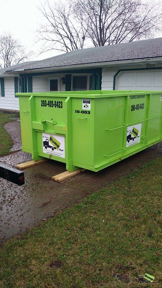 Allen county dumpsters