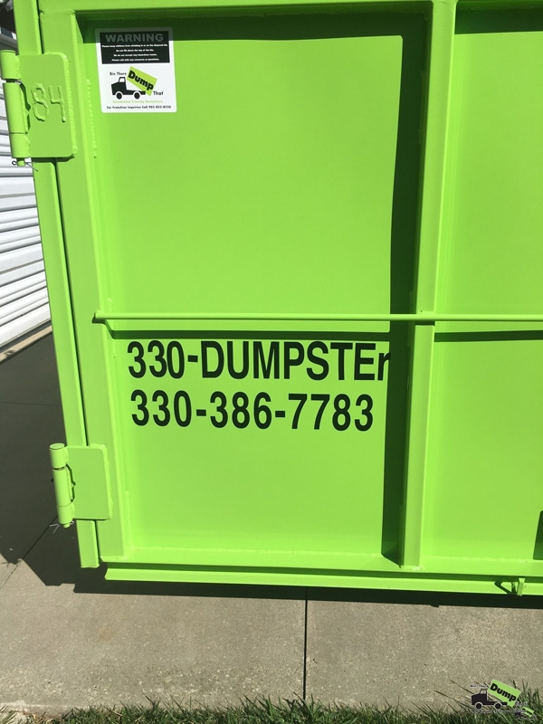 Residential Dumpster Rental NE Ohio Call Us