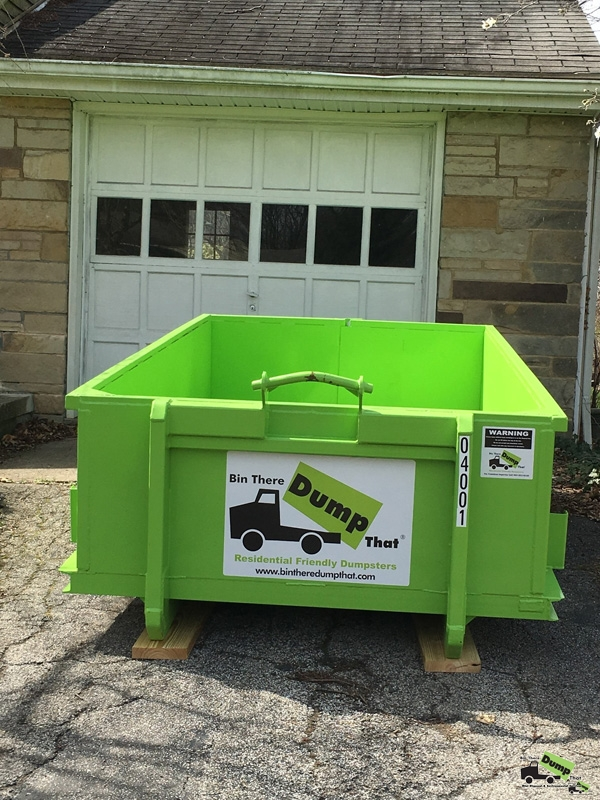 Dumpster Rental NE Ohio Fairlawn Residential Dumpster