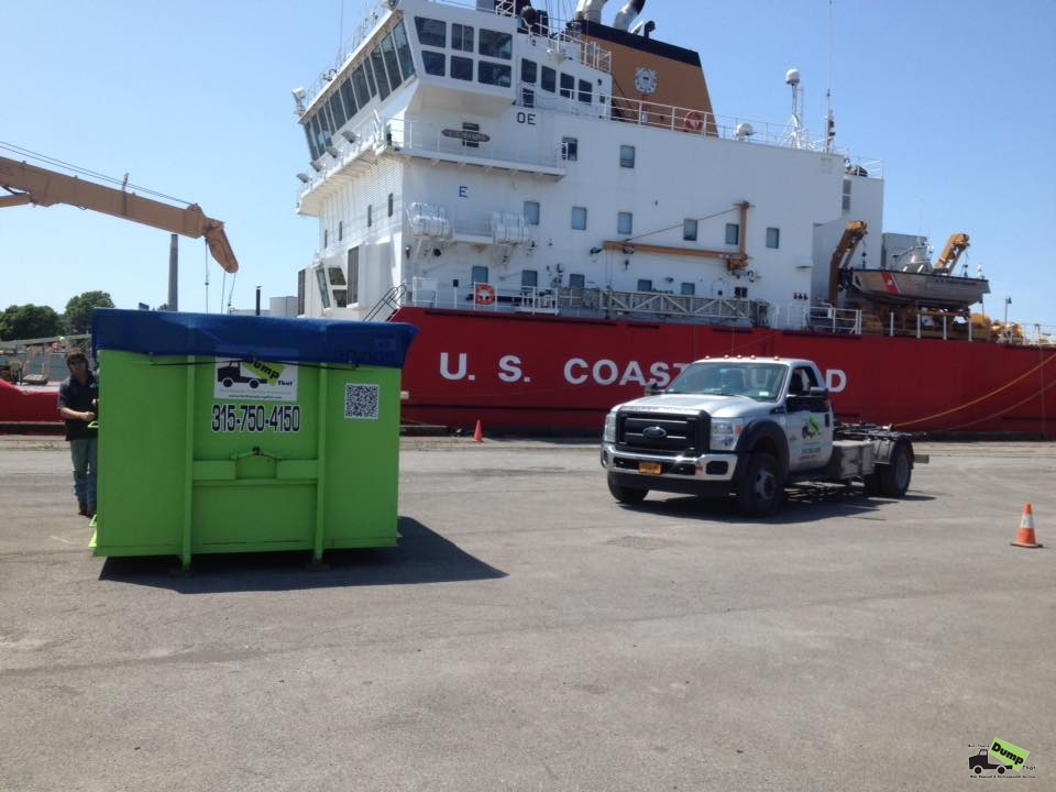 Syracuse dumpster rental aiding US Coast Guard