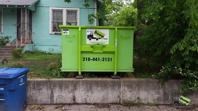 Bin There Dump That San Antonio Dumpster San Antonio Dumpster Rental Dumpster Rental San Antonio