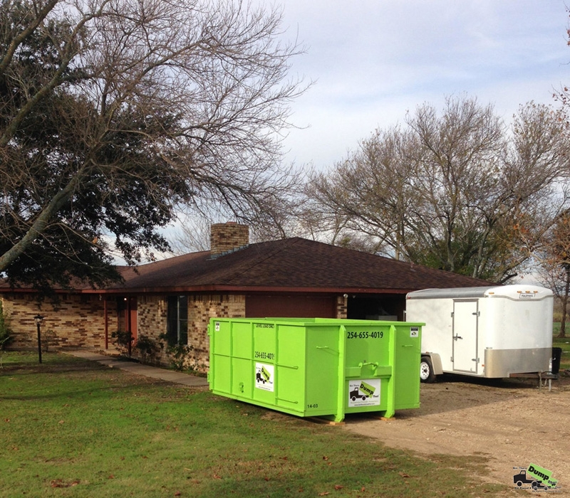 Residential Dumpster Rental Waco